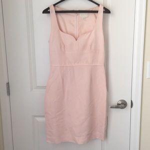 JCrew pink cocktail dress